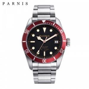 Thiết kế kinh điển của rolex đồng hồ nam Parnis PA6050-2
