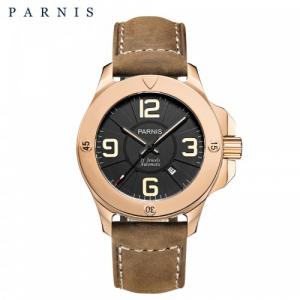 Thiết kế kinh điển của Panerai đồng hồ nam Parnis PA6035-1