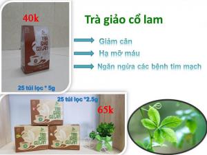 Trà giảo cổ lam Thái Hưng hộp 25 túi lọc 2.5 gam cao cấp