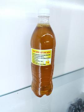 Mật ong rừng nguyên chất chai 1 lít (tuyển sỉ đại lý 0934449922)