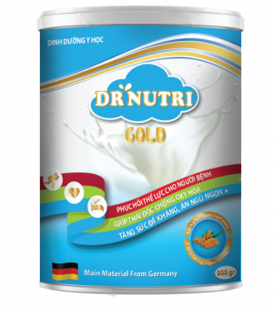 Sữa nghệ tăng cân Dr. Nutri Gold 900gr