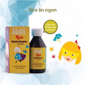 Siro ăn ngon và tăng cường đề kháng Albavit Mutivitamin (tuyển CTV 0934449922)