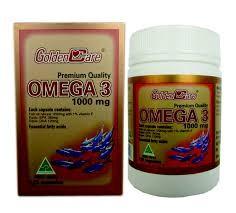 VIÊN NANG DẦU CÁ GOLDEN CARE OMEGA 3 FISH OIL 1000 MG – 120 VIÊN