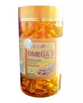 VIÊN NANG DẦU CÁ GOLDEN CARE OMEGA 3 FISH OIL 1000 MG – 365 VIÊN