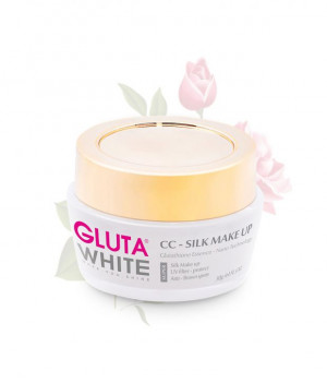 Kem trang điểm CC Nhung Lụa Gluta White CC – Silk Make Up ( 30 GR )