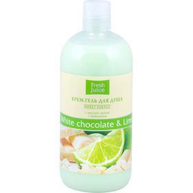 """Gel tắm hương socola trắng và tinhh dầu chanh, """"fresh juice"""", 500ml"""