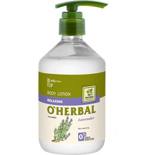 Sữa dưỡng thể thảo dược chiết xuất hoa oải hương O'Herbal, 500ml