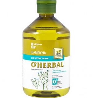 Dầu gội dành cho tóc khô xơ O'Herbal, 500 ml