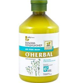 Dầu xả dành cho tóc khô xơ O'Herbal, 500 ml