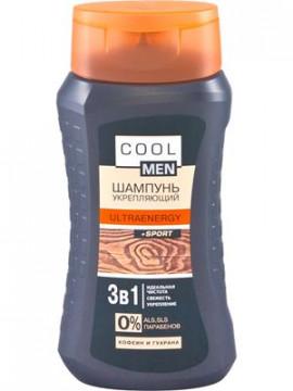 """""""Cool men""""""""ULTRAENERGY+Sport"""" Dầu gội đầu giúp tóc chắc khỏe, 250ml"""