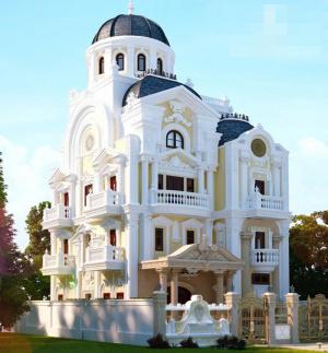 Những mẫu thiết kế biệt thự cổ điển đẹp choáng ngợp và cuốn hút