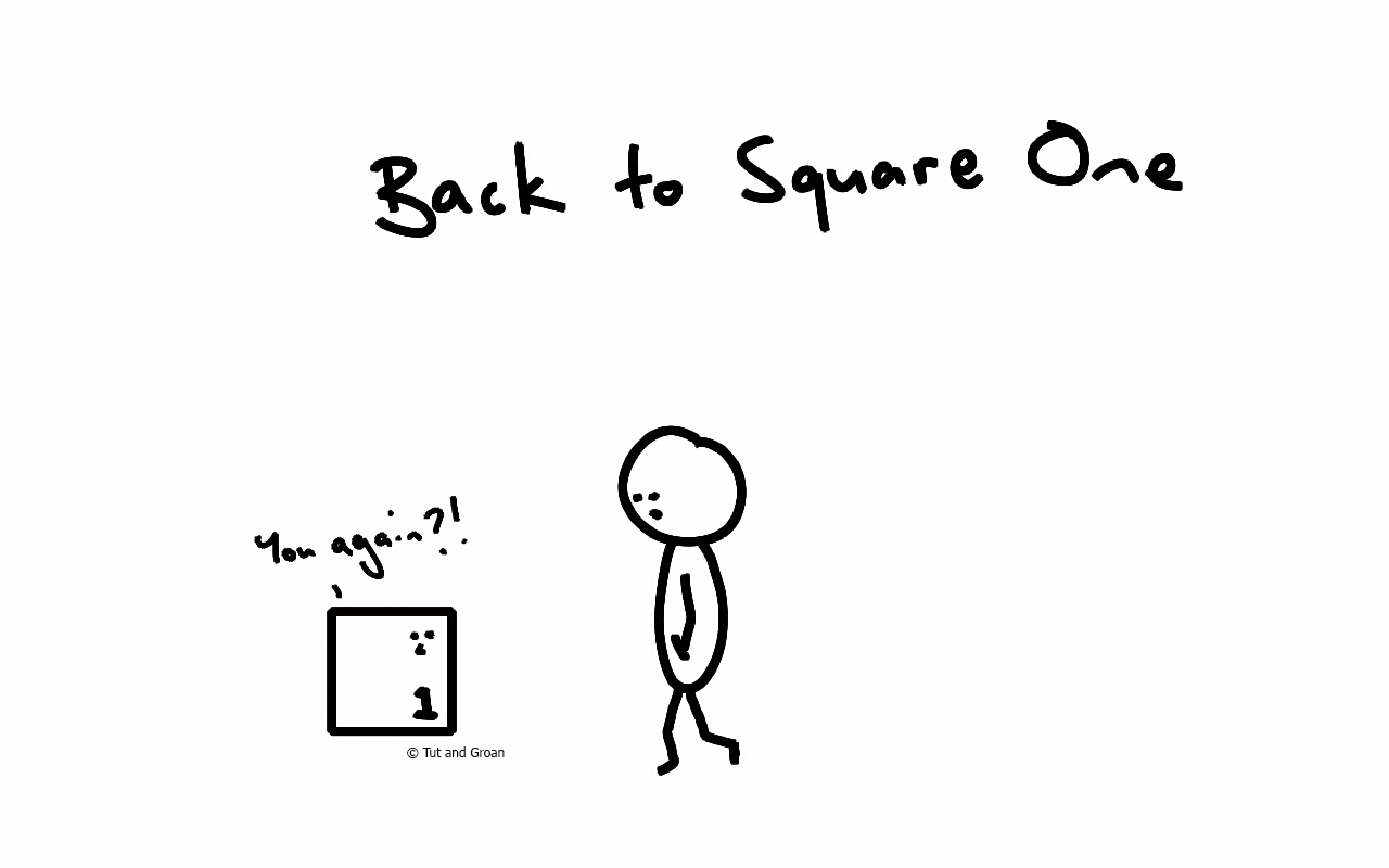 THÀNH NGỮ: BACK TO SQUARE ONE