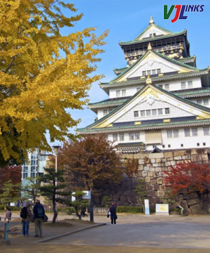 Lãng Mạn Sắc Thu Nhật Bản - Cung Đường Vàng 6N5Đ