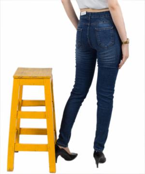 Quần Jean Nữ VIETJEAN Skinny Trơn KD6-613.1