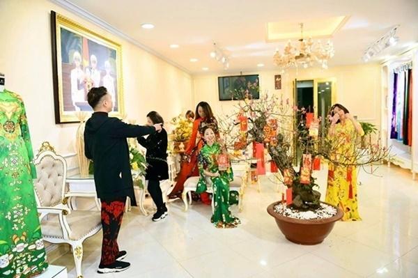 Địa chỉ may áo dài tết đẹp tại Hà Nội
