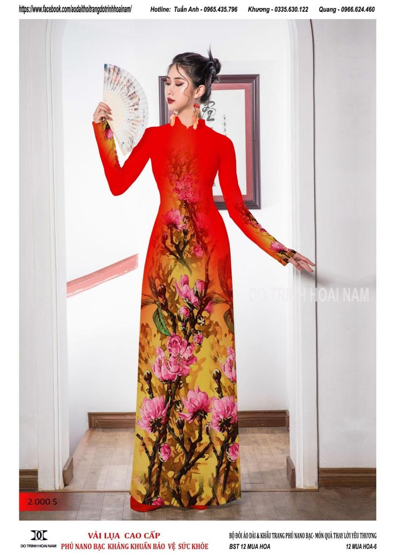 Bí quyết mặc áo dài Tết 2021 đẹp như sao Việt