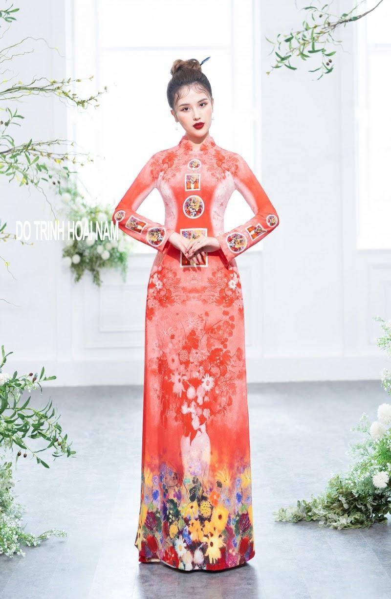12+ Mẫu áo dài Tết đẹp tinh tế dành cho phái nữ