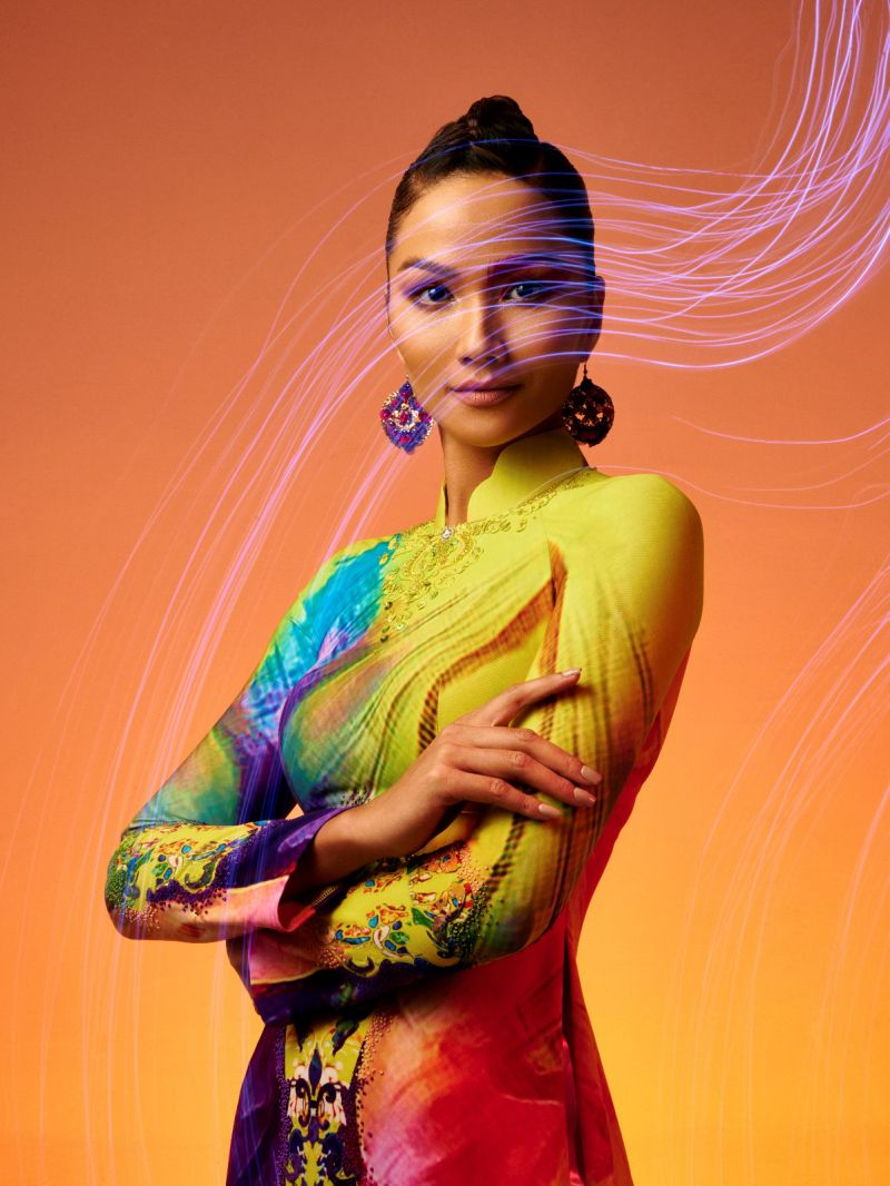 H'Hen Niê gây thương nhớ trong bộ ảnh tôn vinh áo dài Việt