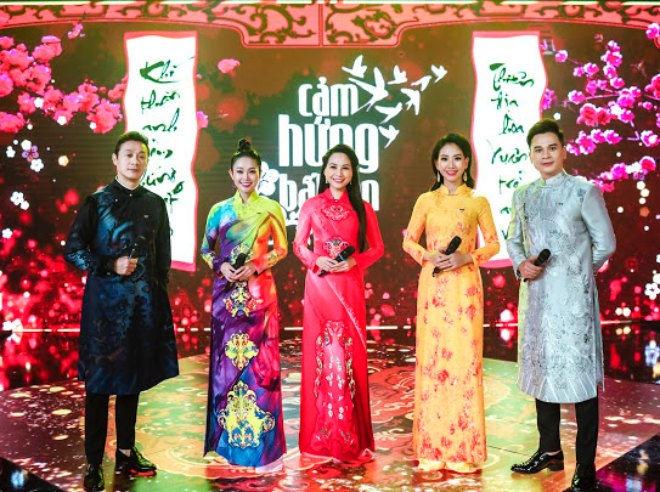 5 MC VTV nổi tiếng diện áo dài Đỗ Trịnh Hoài Nam trong Cảm hứng bất tận