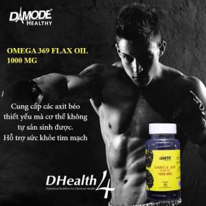 Omega 369 - Organic Flax Oil 1000 mg - 60 Soft Gels