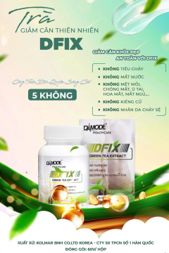 DFIX Trà giảm cân thiên nhiên từ Hàn Quốc