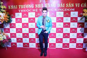Quang Hà bảnh bao tham dự sự kiện