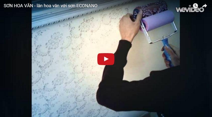 Cách lên sơn với bộ con lăn mềm