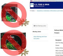 [ Update Mới Nhất ] Danh sách Trà và thuốc giảm cân bị cấm ở Việt Nam