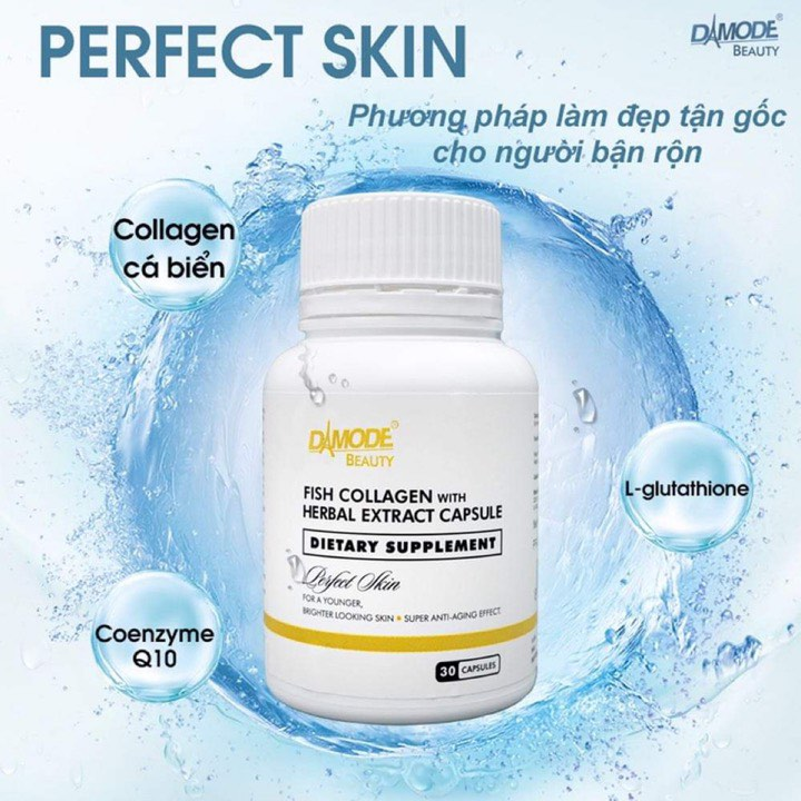 PERFECT SKIN Fish Collagen With Herbal Extracts Capsule