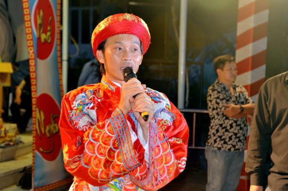 Hoài Linh song ca Lệ Quyên - giỗ tổ sân khấu 2017 - nhà thờ tổ