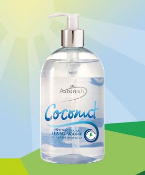 Nước rửa tay Astonish tinh dầu dừa C4545 (500ml)