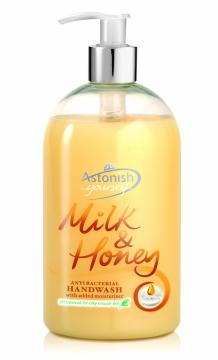 Nước rửa tay Sữa tươi và Mật ong Astonish C4550_1/2lit