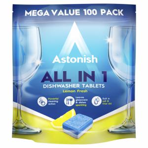 Viên rửa chén bát all in 1 Astonish C2171_100viên