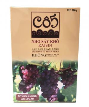 Nho đỏ sấy khô không đường - Đặc sản Phan Rang