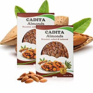 Hạt hạnh nhân hộp giấy Cadita - Mỹ