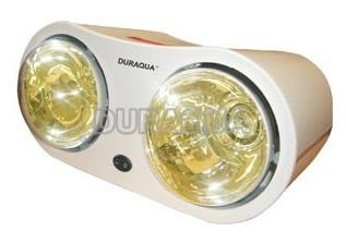 Đèn sưởi nhà tắm 2 bóng D2G Duraqua