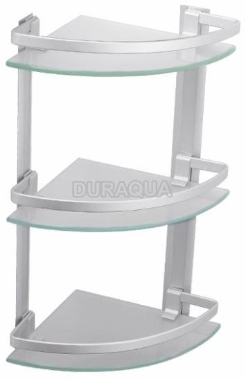 Kệ kính mỹ phẩm 3 tầng treo góc Duraqua 5303