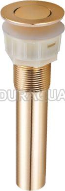 Siphong lavabo mạ vàng Duraqua SPDG03