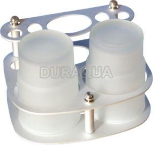 Giá để cốc & bàn chải đánh răng Duraqua TH08