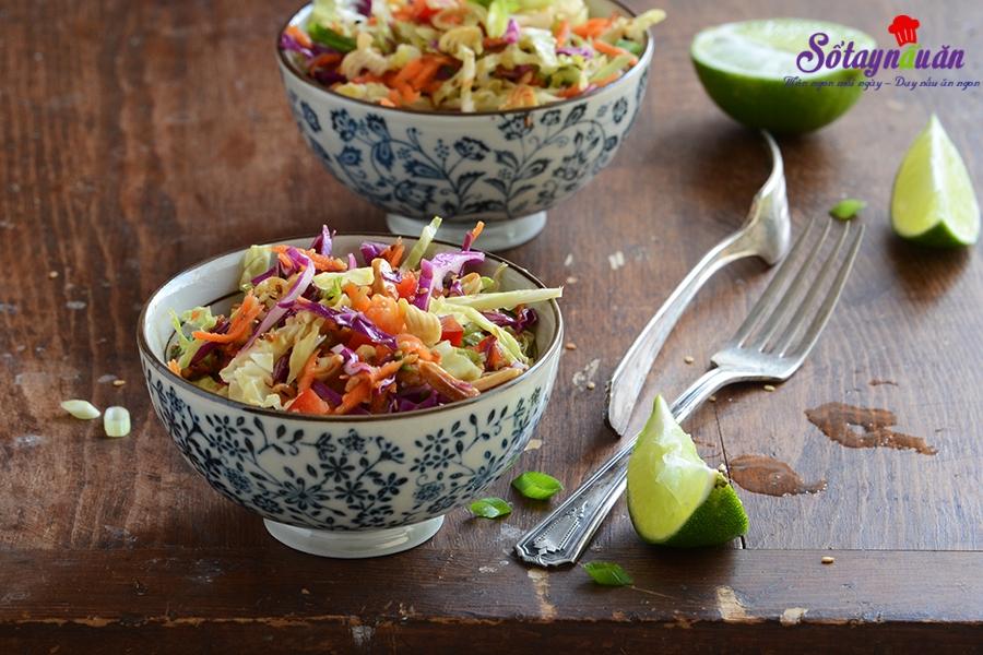 Cách làm salad rau trộn thơm ngon rực rỡ sắc màu
