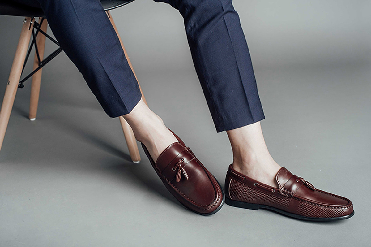 Giày quả chuông - Giày Tassel Loafer