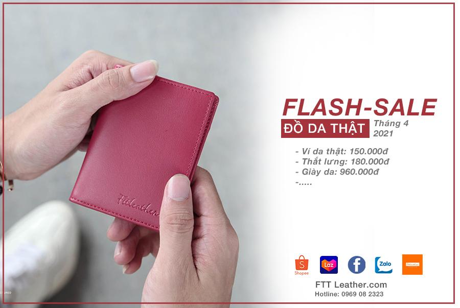 Chương trình Sale off Flash Sale tại FTT leather