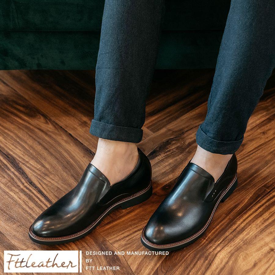 Tại sao giày lười đế cao nên được thêm vào bộ sưu tập của các quý ông?