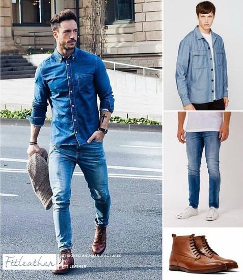 Top 5 cách phối giày với quần jean nam cực đỉnh mà bạn nên biết