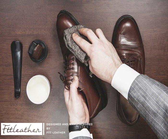 Cách xử lý giày da bị nhăn tại nhà