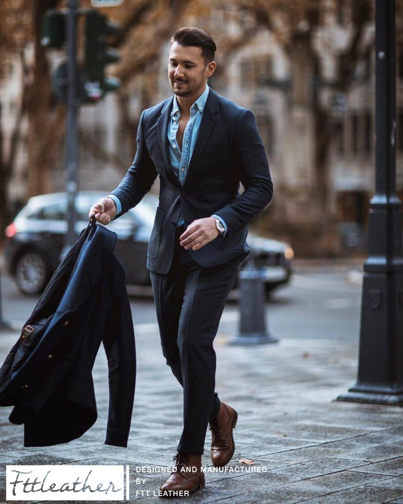 Mặc vest đi giày gì cho sang trọng, lịch lãm chuẩn quý ông đích thực?