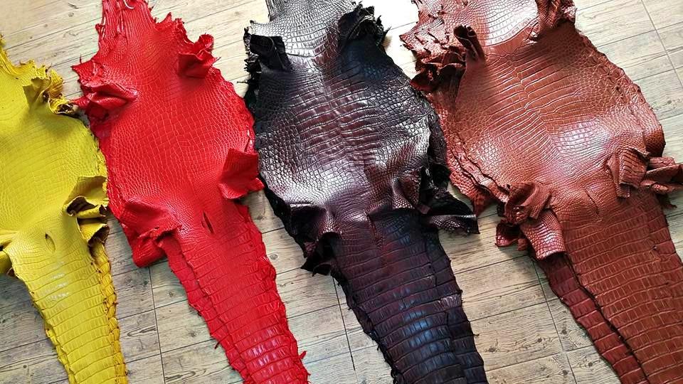 Cách phân biệt da cá sấu xịn và da cá sấu thường bằng nước