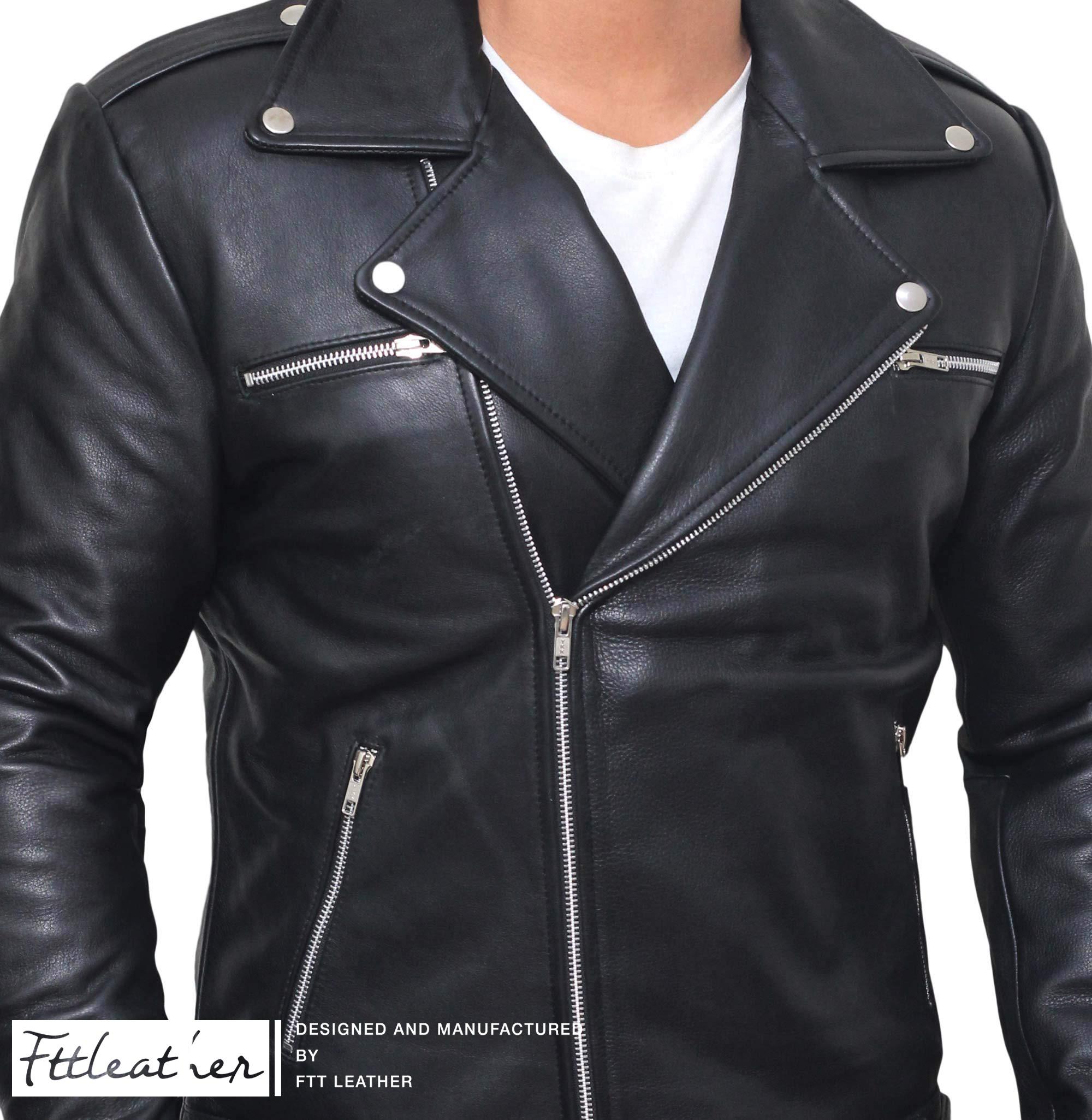Biker Jacket - Mẫu áo da thời thượng cho giới trẻ