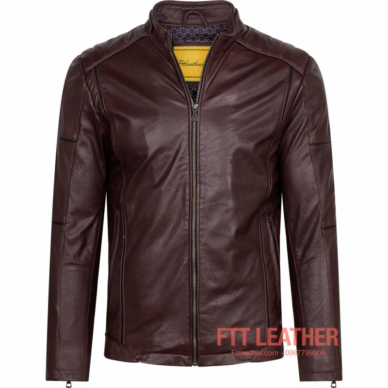 Áo da Racer Jacket – MS MJ03PP U5