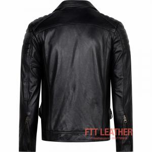Áo da Biker Jacket – MS BJ01BL - A2017 MÃ 2021D40